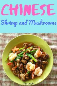 chinese shrimp and mushrooms