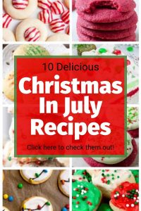 christmas in july recipes