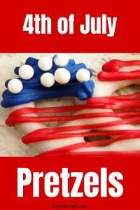 4th of july pretzels