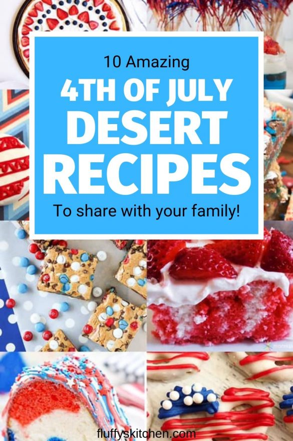 10 4th of july deserts