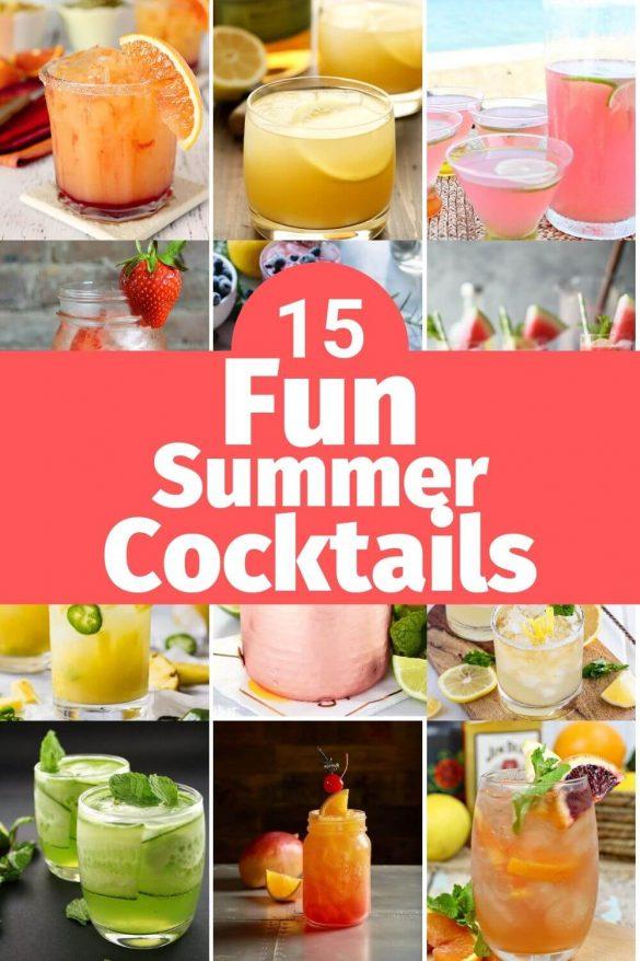 fun summer cocktails