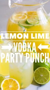Lemon Lime Vodka Punch