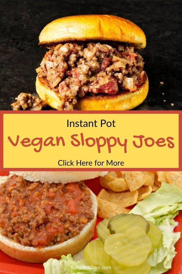 Vegan Sloppy Joes