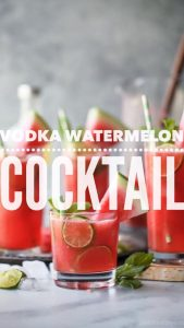 Vodka Watermelon Cocktail