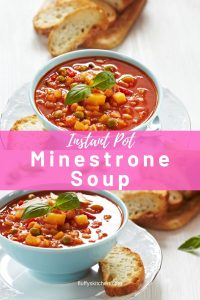 Instant Pot Minestrone Soup (1)