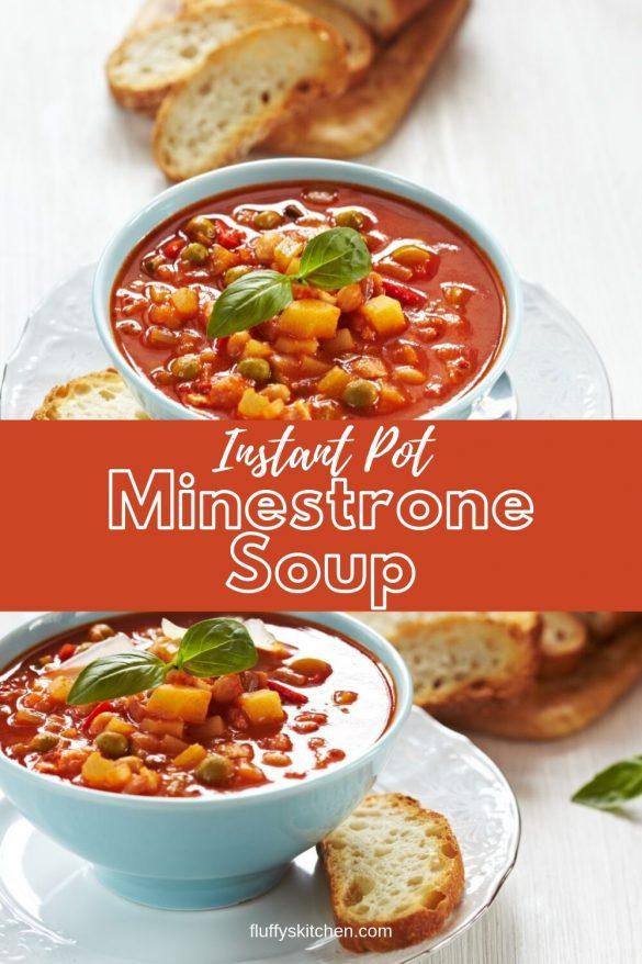 Instant Pot Minestrone Soup (1)