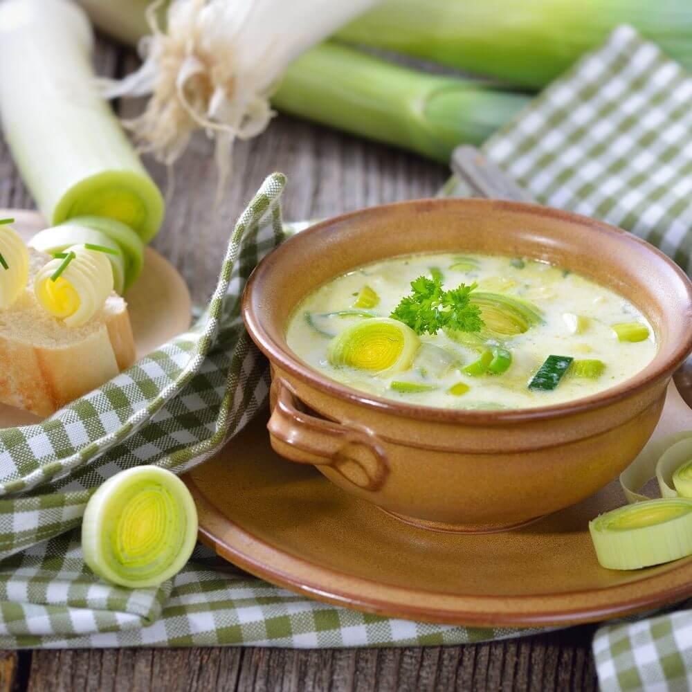Instant Pot Potato and Leek Soup