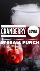 cranberry orange eyeball punch