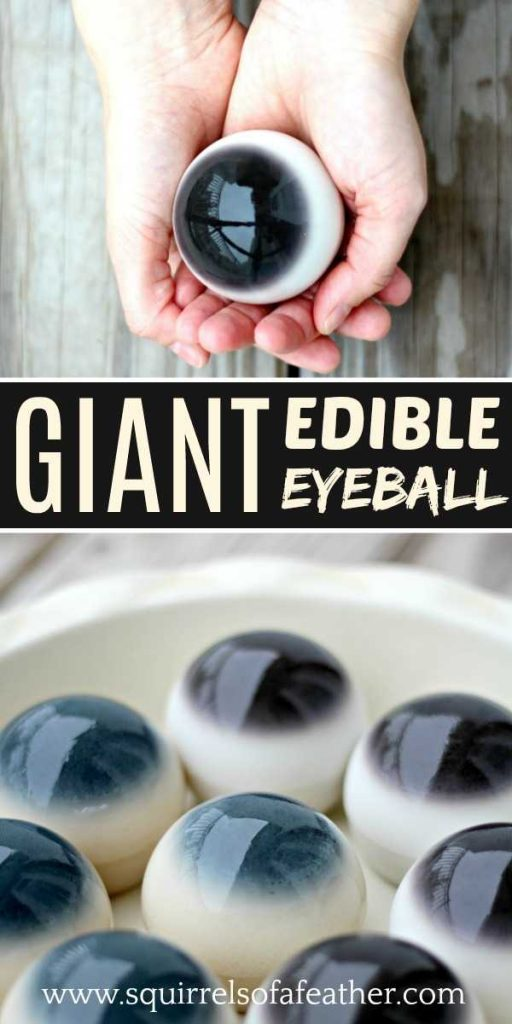 giant edible eyeball