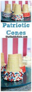 patriotic cones