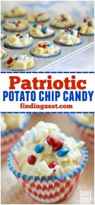 patriotic potato chip candy