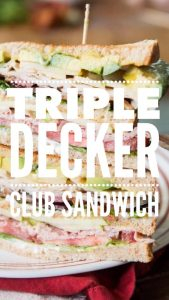 triple decker club sandwich