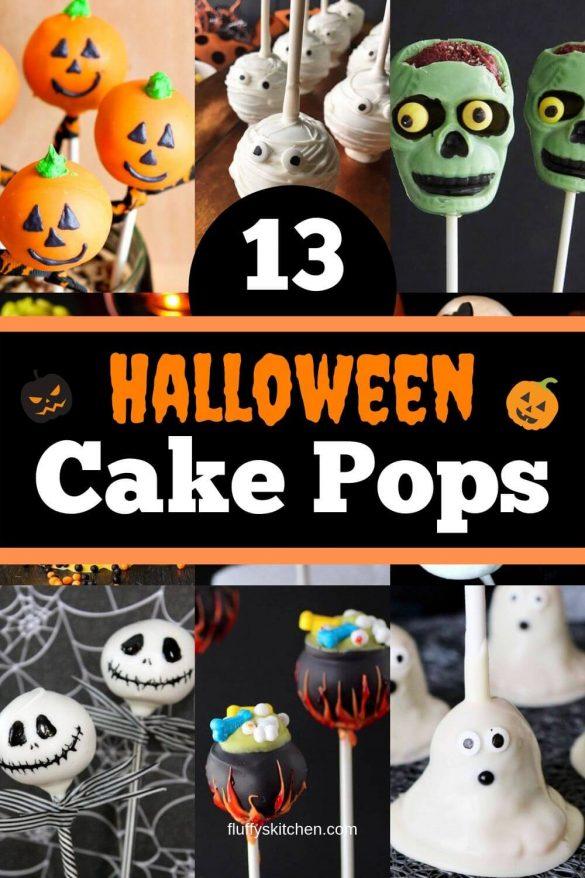 13 Halloween Cake Pops