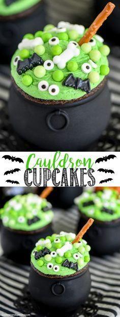 20 Halloween Cupcake Ideas