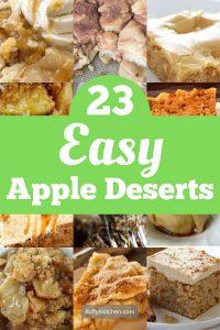 23 Easy Apple Desert Recipes