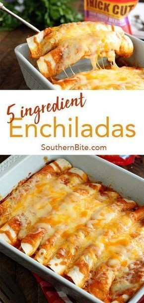 5 ingredient enchiladas