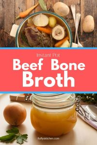 Instant Pot Beef Bone Broth