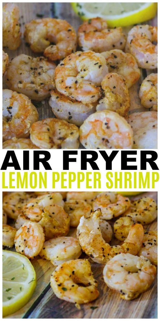 air fryer lemon pepper shrimp
