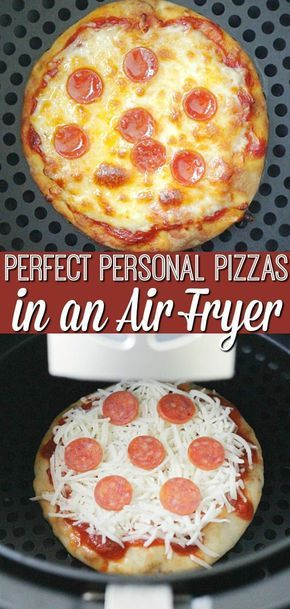 air fryer personal pizza