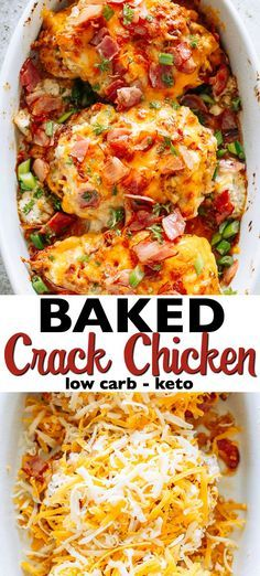 baked crack chicken