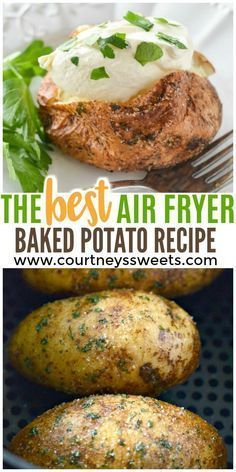 best air fryer baked potato