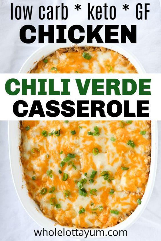 chili verde Casserole