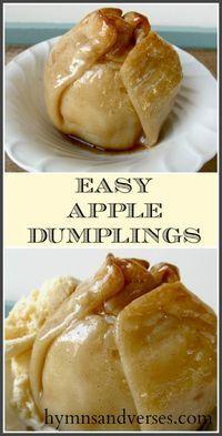 easy apple dumplings