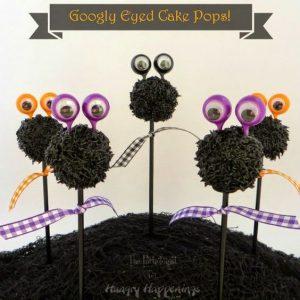 googly eyed cake pops