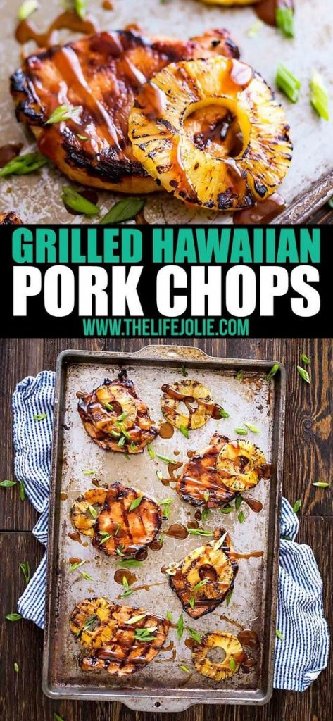 grilled hawaiian pork chops