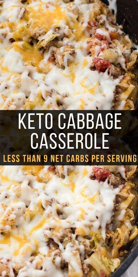 keto cabbage casserole