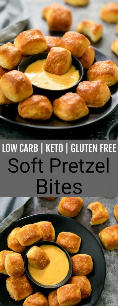 keto pretzel bites