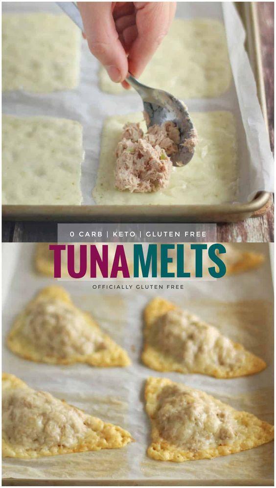 keto tuna melts