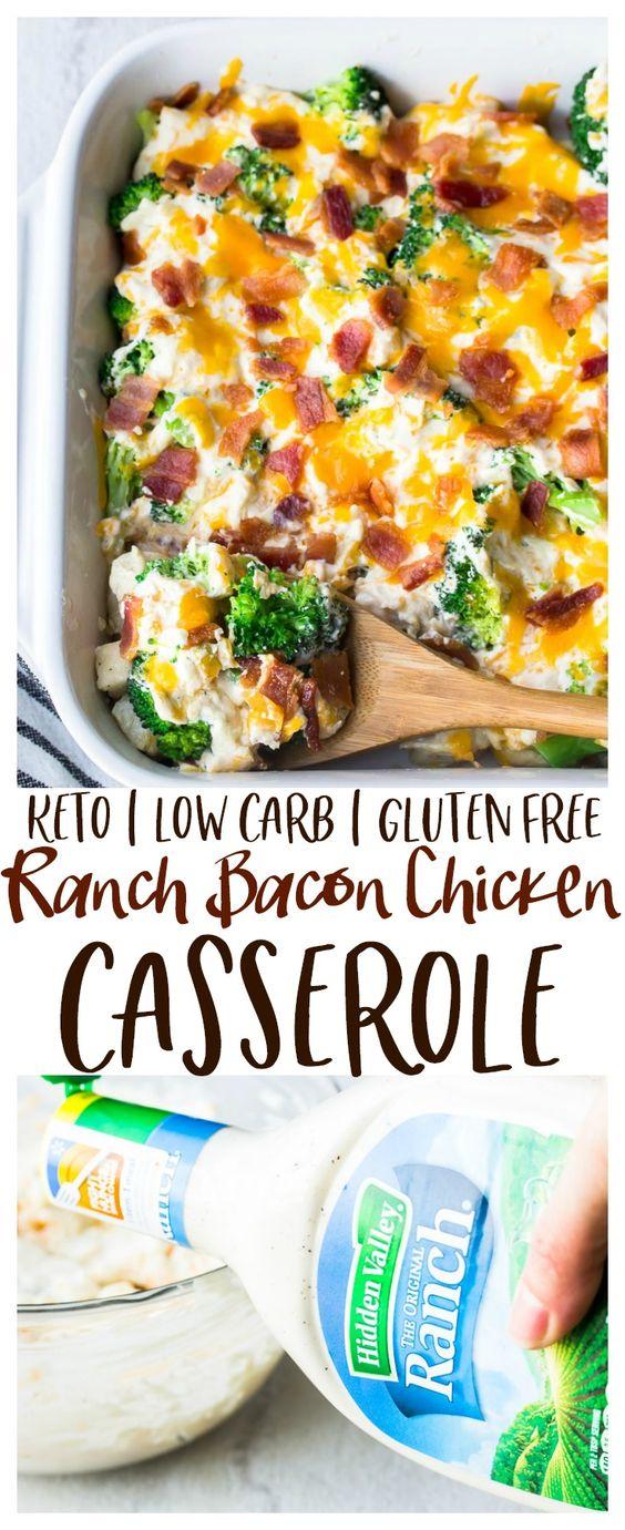 ranch bacon chicken casserole