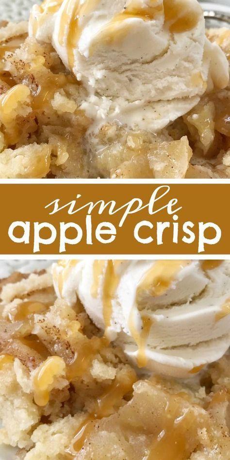 simple apple crisp
