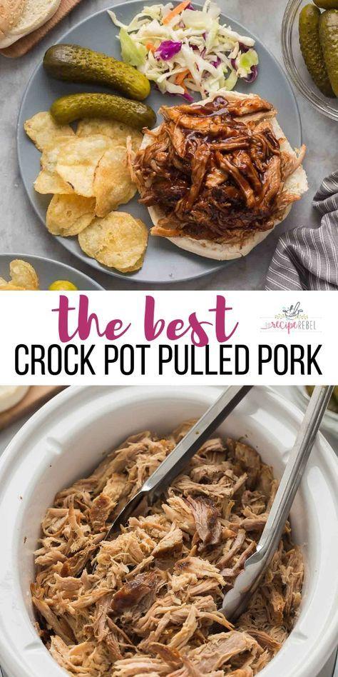 Best crock pot pulled pork