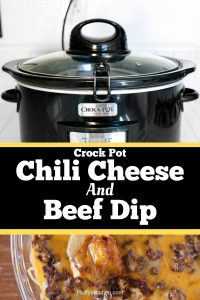 Crock Pot Chili Cheese and Beef Dip