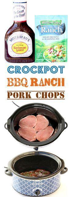 bbq ranch pork chops