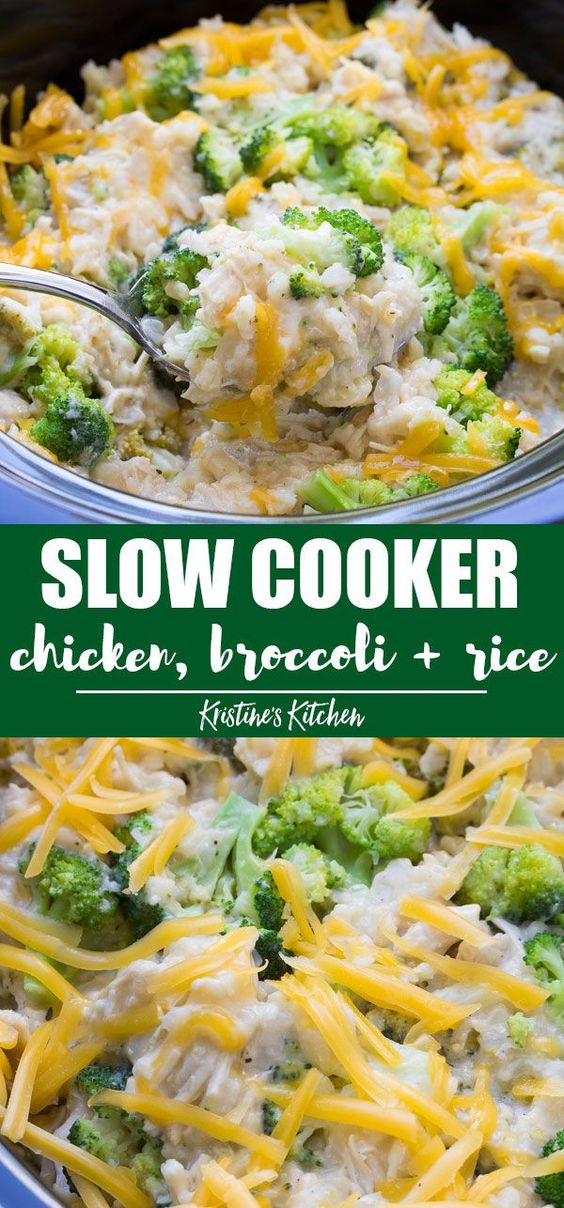 chicken broccoli and rice
