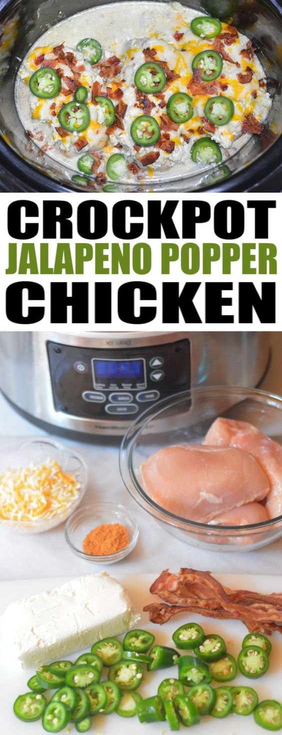 crock pot jalapeno popper chicken
