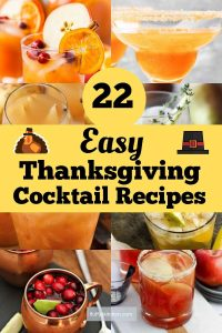 22 Easy Thanksgiving Cocktail Recipes