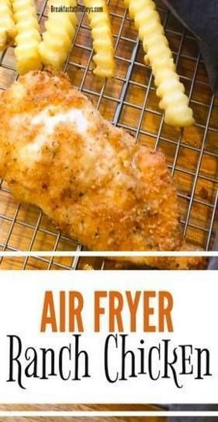 air fryer ranch chicken