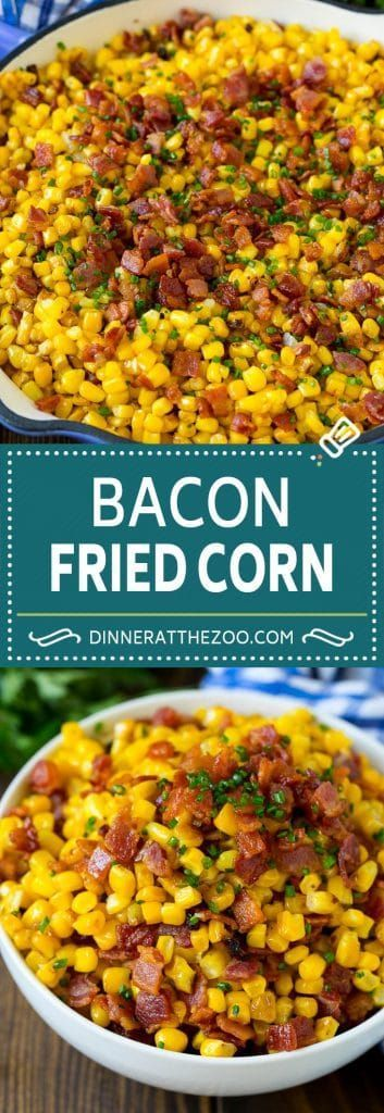 bacon fried corn