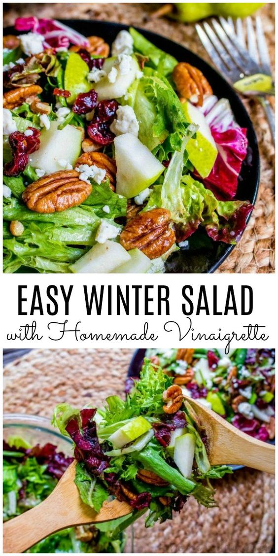 easy winter salad
