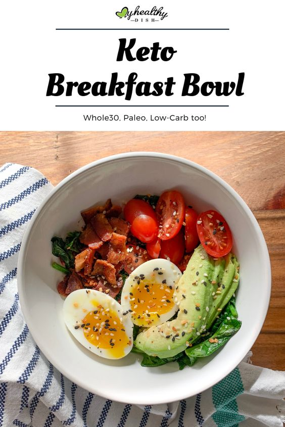 keto breakfast bowl