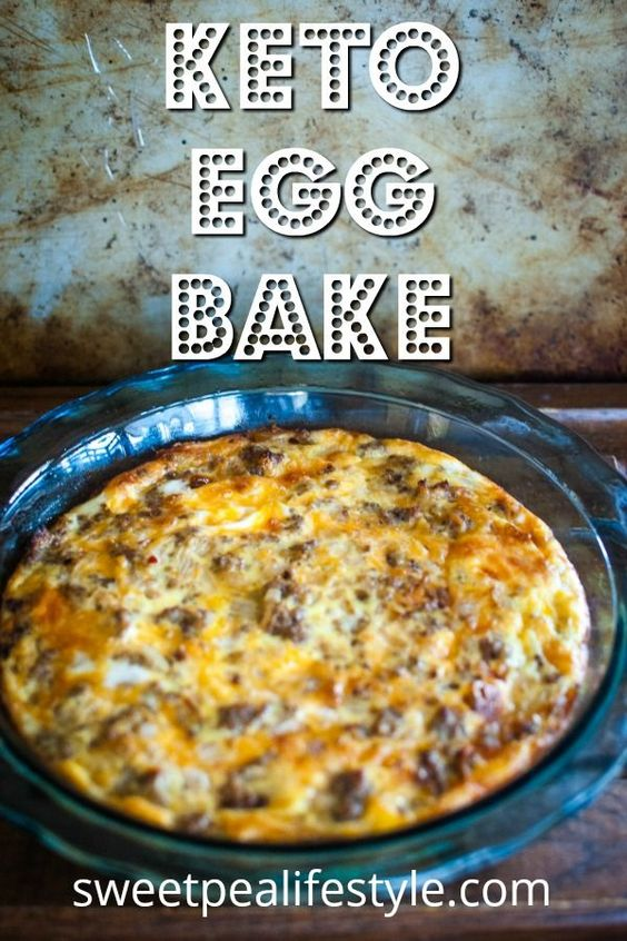 keto egg bake