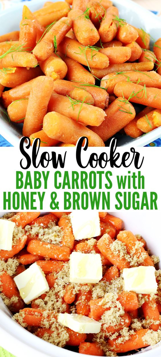 slow cooker baby carrots