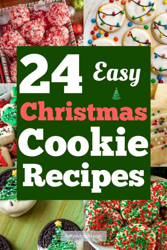 24 Easy Christmas Cookie Recipes