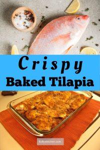 Crispy Baked Tilapia