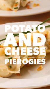Potato and Cheese Pierogie