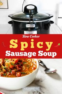 Slow Cooker Spicy Sausage Soup